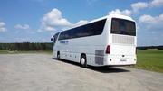 Осуществляем перевозки на туристическом автобусе еврокласса