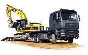 Перевозка техники и грузов